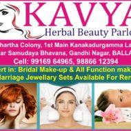 KAVYA BEAUTY PARLOUR
