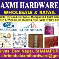 SHRI MAHALAXMI HARDWARE & PLYWOOD