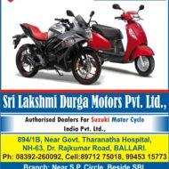 Sri Lakshmi Durga Motors Pvt. Ltd.,