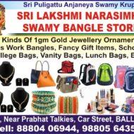 SRI LAKSHMI NARASIMHA SWAMY BANGLE STORE