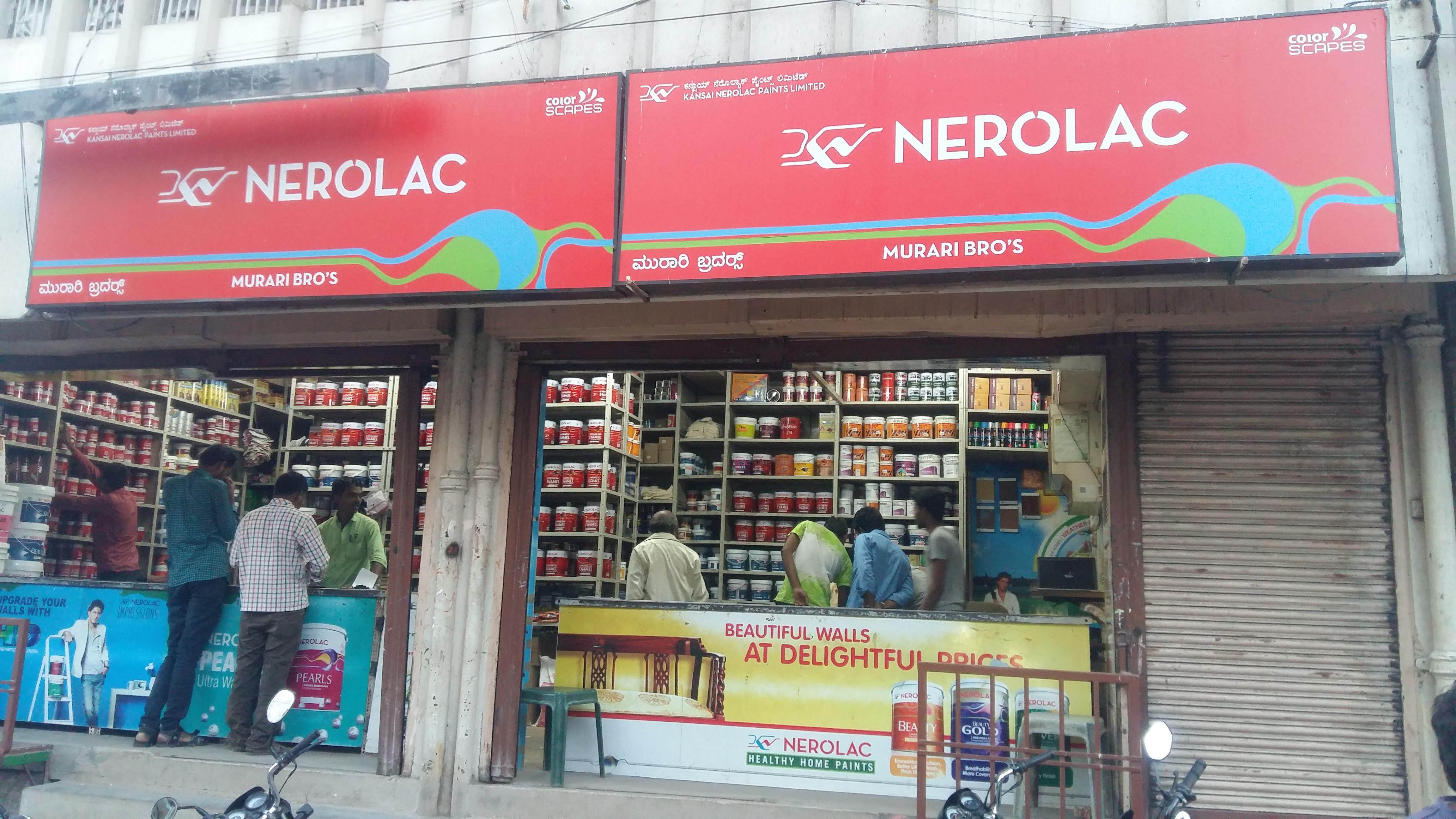 NEROLAC PAINTS DEALERS IN BALLARI