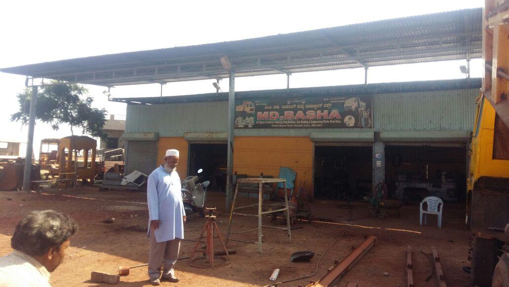 MD. BASHA Earthmoving & Hydraulic Engg. Works