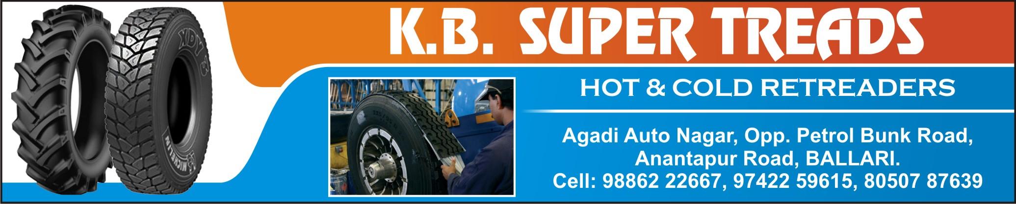 K.B. SUPER TREADS