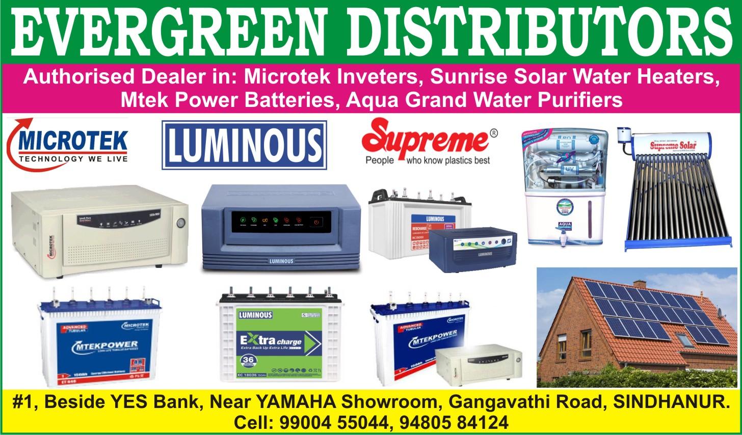 Evergreen Distributors