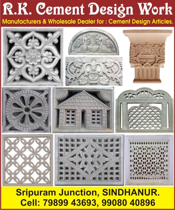 R.K. Cement Design Work