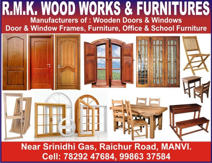 R.M.K. WOOD WORKS & FURNITURES