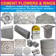 SRI PADMAVATHI CEMENT FLOWERS & RINGS