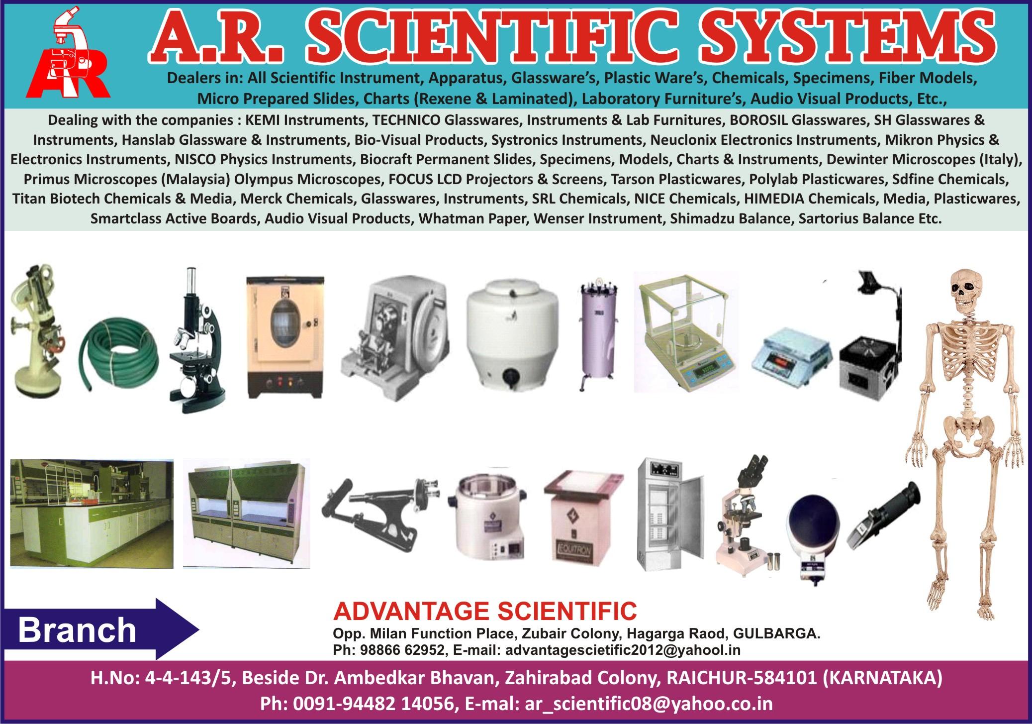 A.R. SCIENTIFIC SYSTEMS