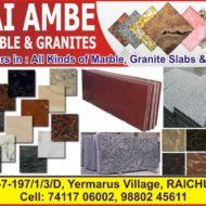 JAI AMBE MARBLE & GRANITES