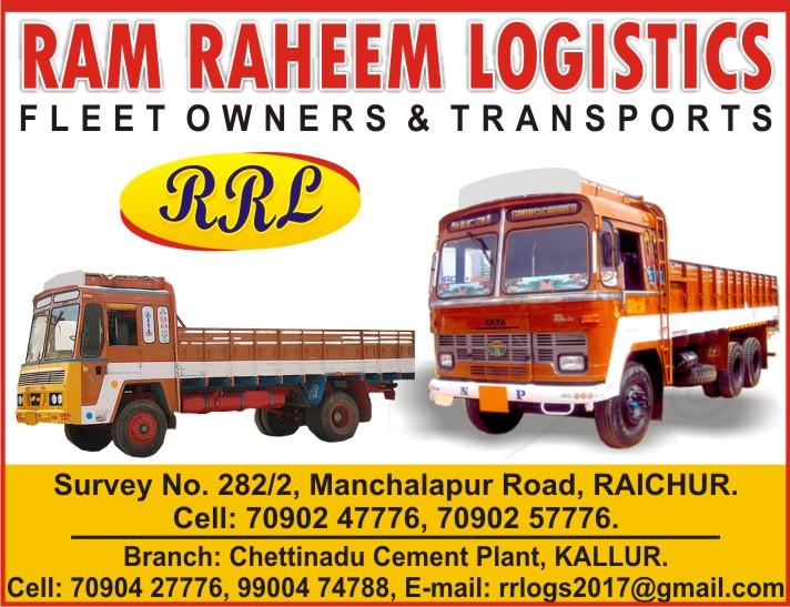 RAM RAHEEM LOGISTICS