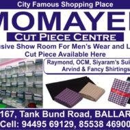 MOMAYEE Cut Piece Centre