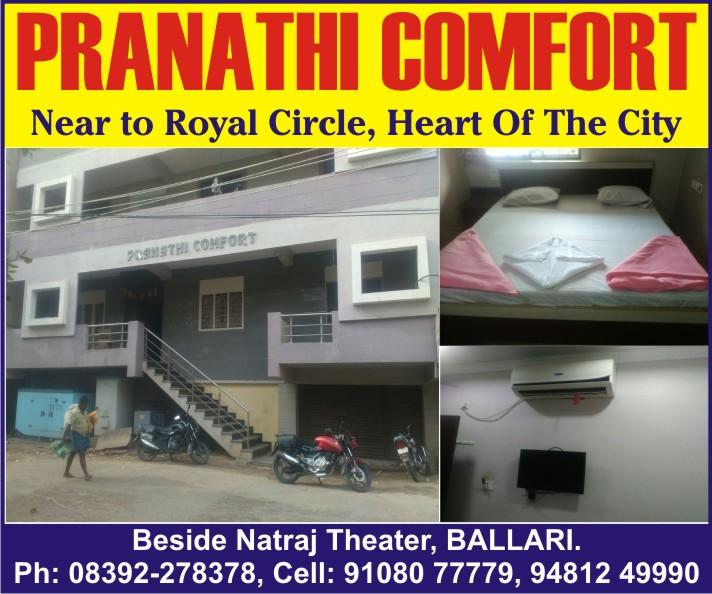 PRANATHI COMFORT