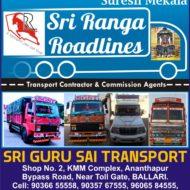 SRI RANGA ROADLINES