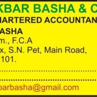 AKBAR BASHA & CO.