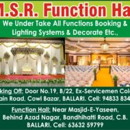 M.S.R. Function Hall