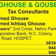 GHOUSE & GOUSE