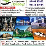 RP INTERNATIONAL HOLIDAYS