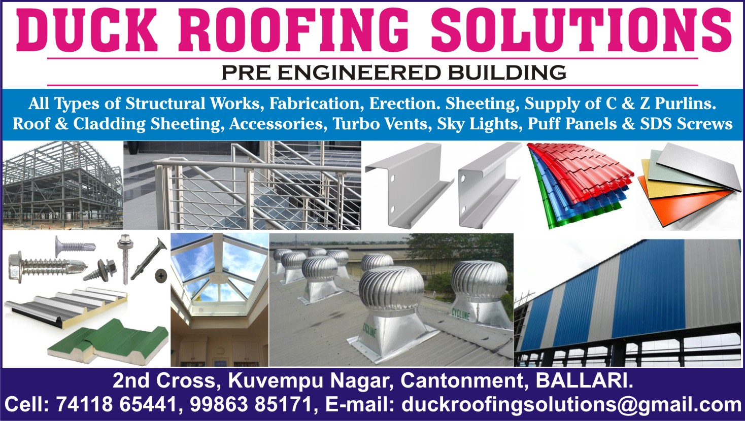 DUCK ROOFING SOLUTIONS