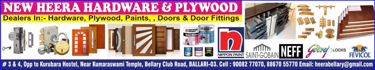 NEW HEERA HARDWARE & PLYWOOD