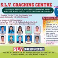 S.L.V. COACHING CENTRE